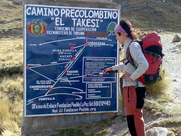 Portada de Trek by Takesi Inca Trail